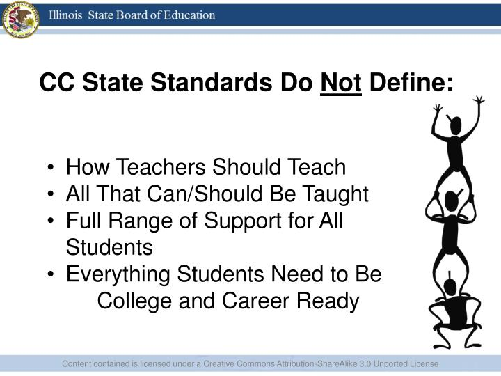 CC State Standards Do