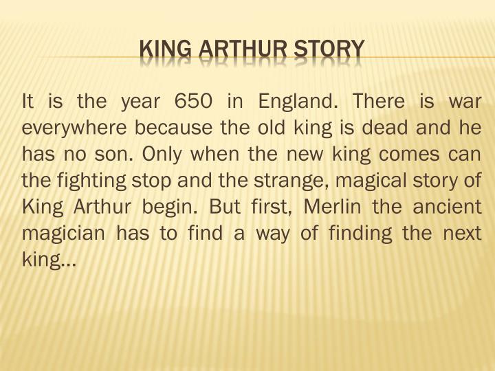 King arthur story