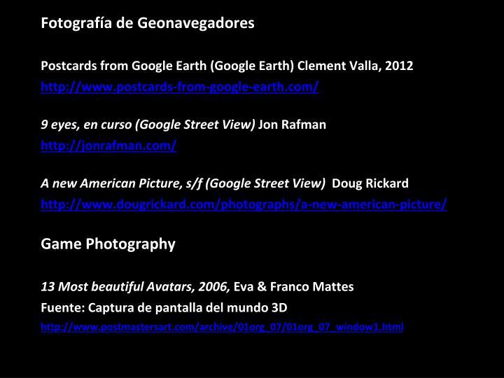 Fotografía de Geonavegadores