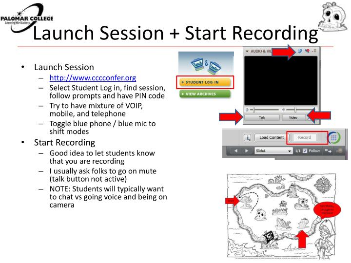 Launch Session + Start Recording