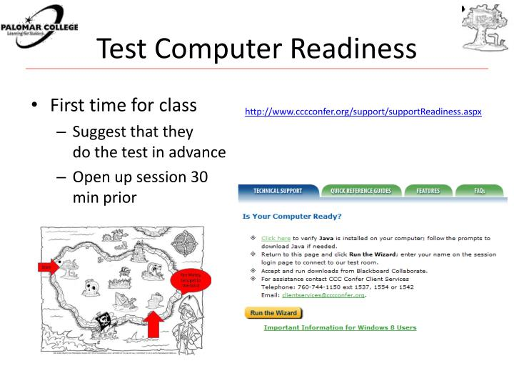 Test Computer Readiness