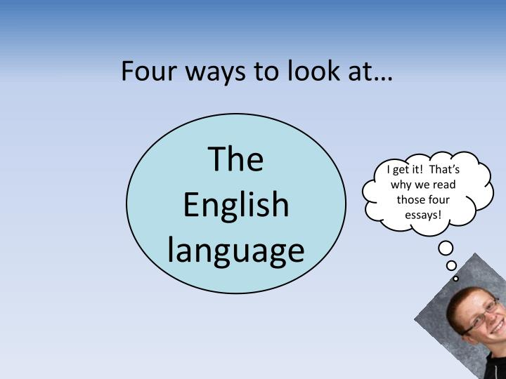 four ways to look at n.