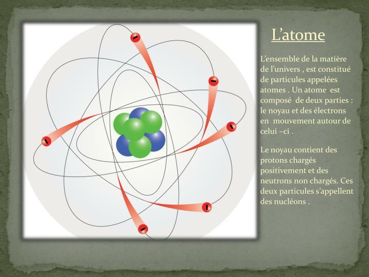 L atome1