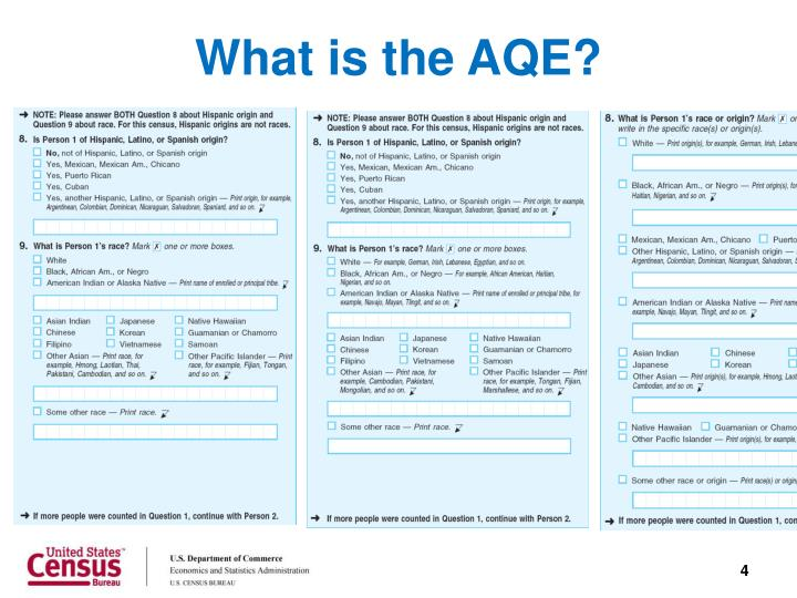 What is the AQE?
