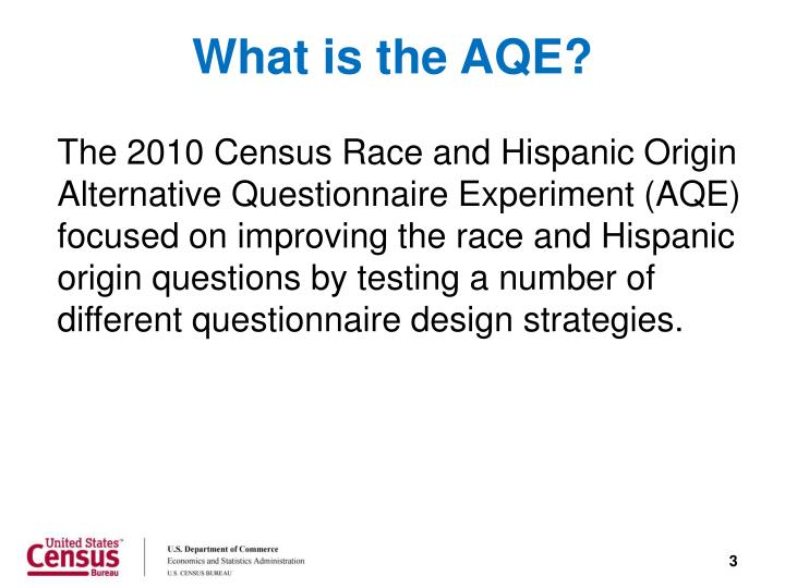 What is the aqe