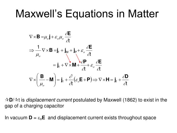 Maxwell s equations in matter1
