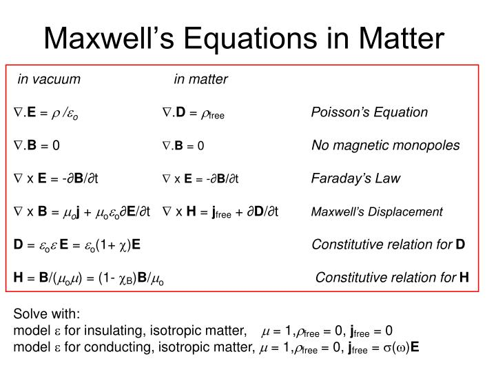 Maxwell s equations in matter2