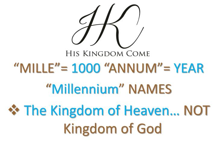 """MILLE""="