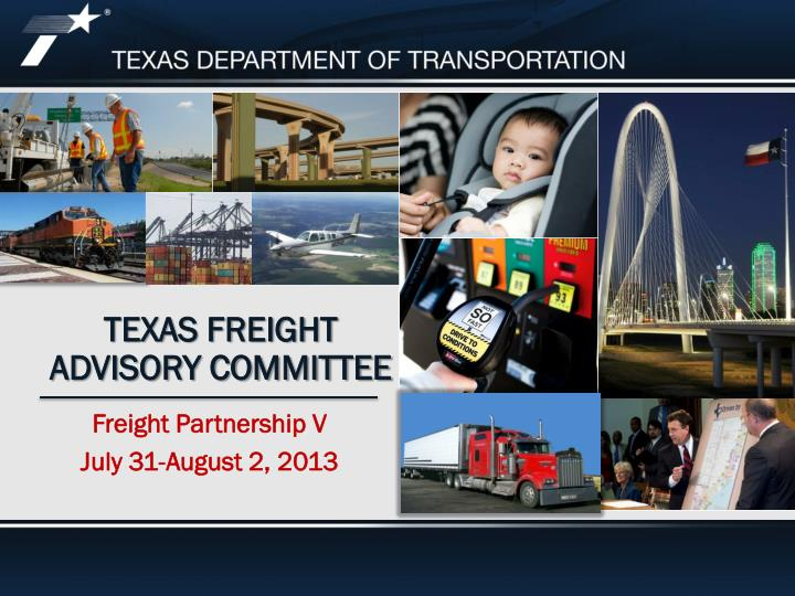 Texas freight advisory committee