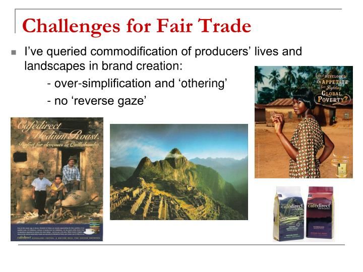 Challenges for Fair Trade