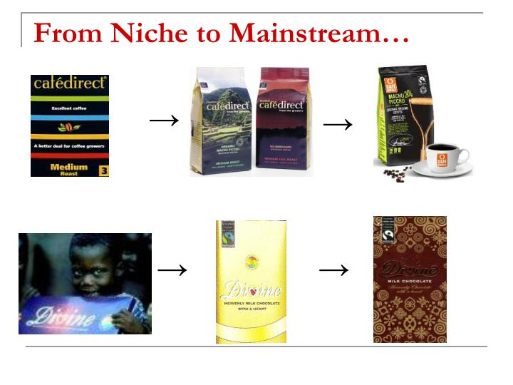From Niche to Mainstream…