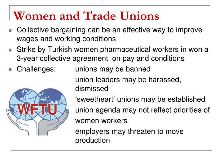 Women and Trade Unions
