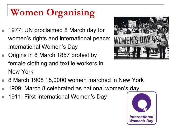 Women Organising