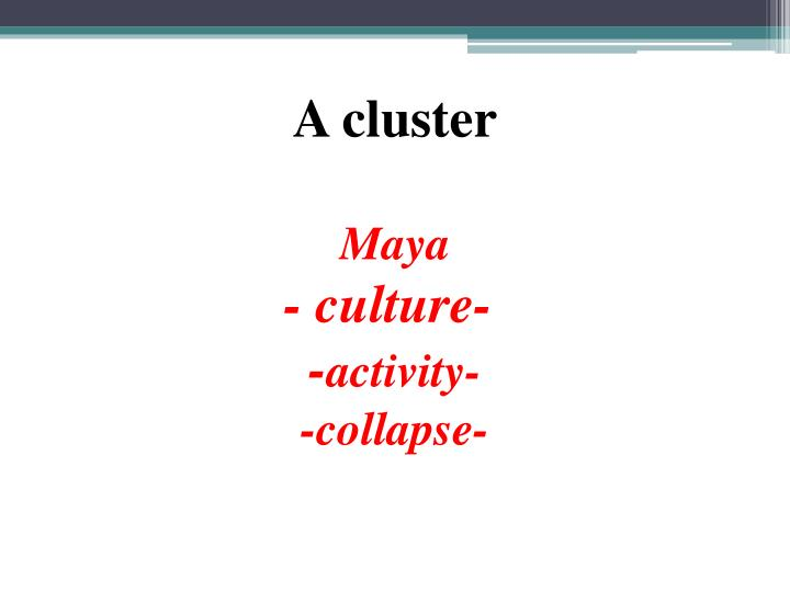 A cluster
