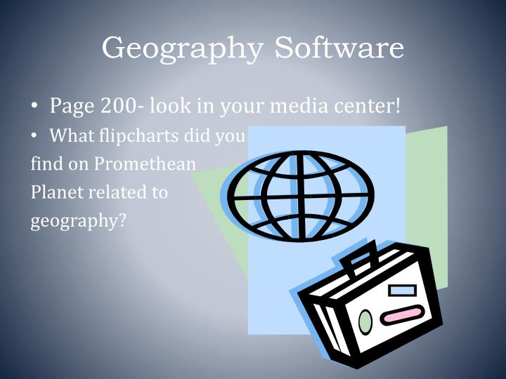 Geography Software