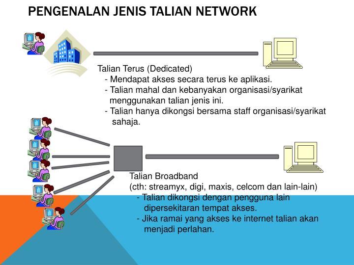 Pengenalan jenis talian network