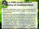 1948 theory of communication