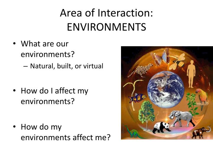 Area of Interaction: