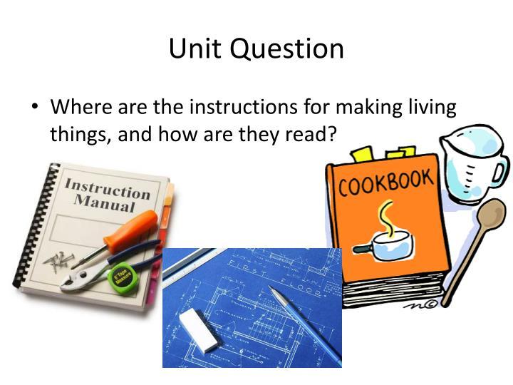 Unit Question