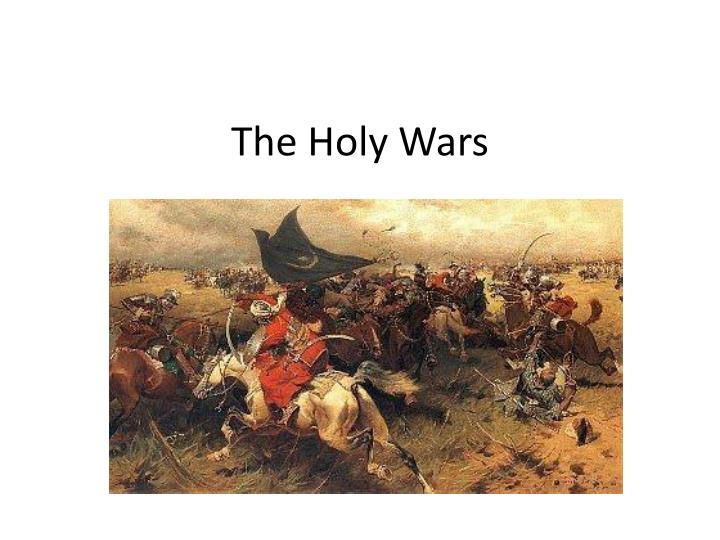 the holy wars n.