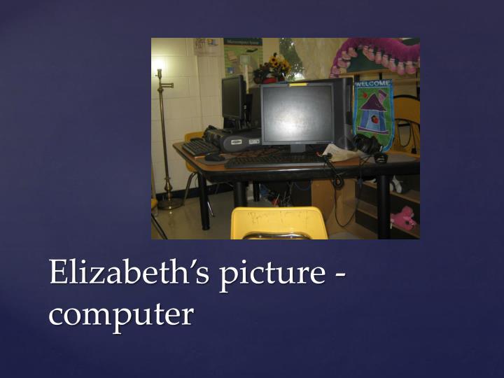 Elizabeth's picture -