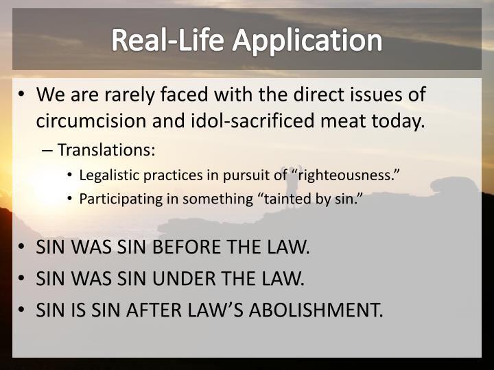 Real-Life Application