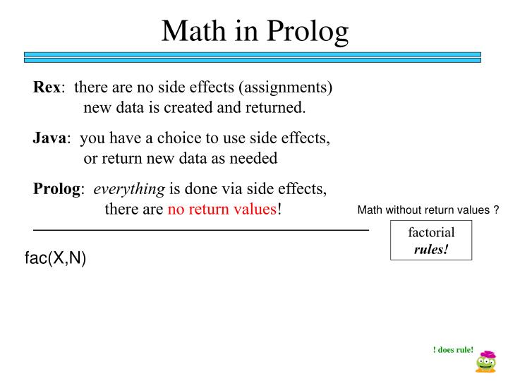 Math in Prolog