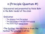 n principle quantum