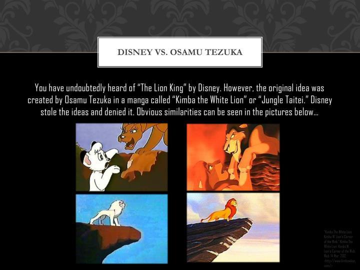 Disney Vs. Osamu