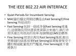 the ieee 802 22 air interface10