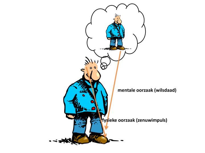 mentale oorzaak (