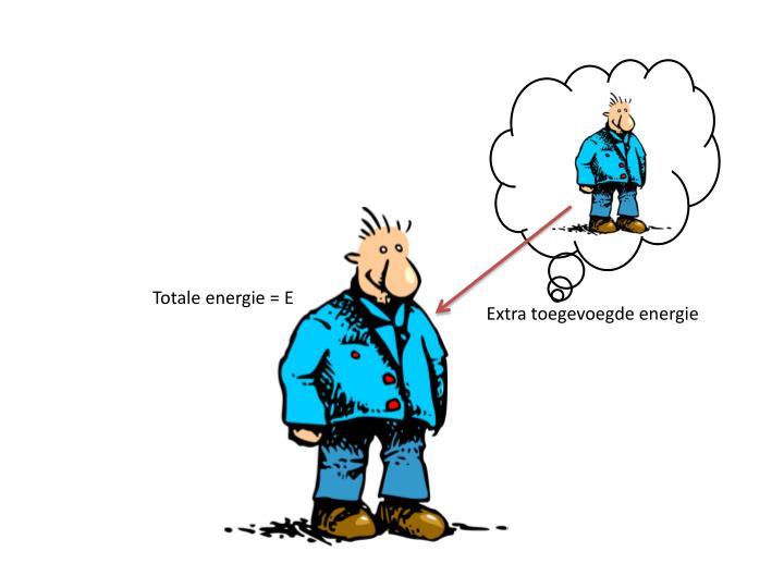 Totale energie = E