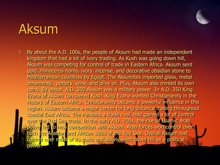 Aksum