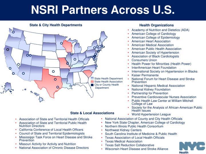 NSRI Partners Across U.S.