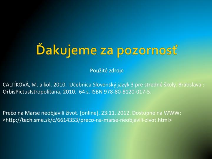 PPT - Konektory textu v náučnom štýle PowerPoint Presentation - ID ... 7db891e576b