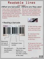 readable lines barcodes