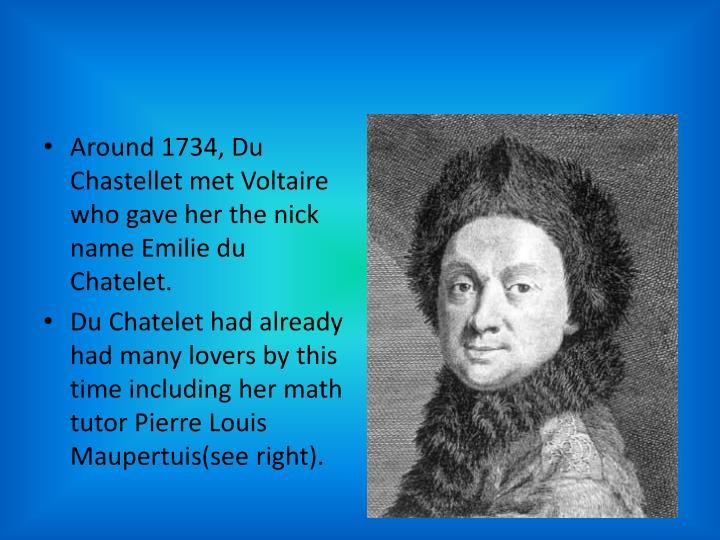 Around 1734, Du