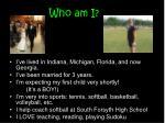 who am i1