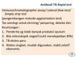 antibodi tb rapid test