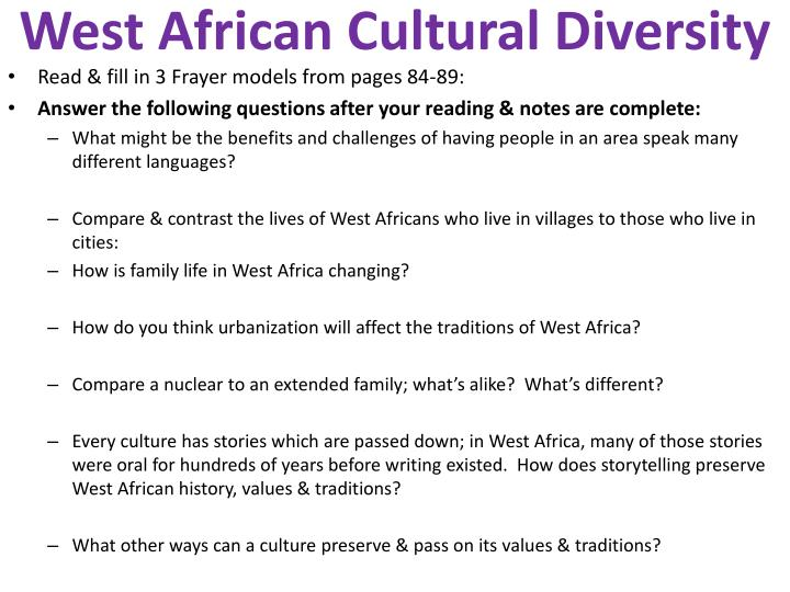 Ppt west african cultural diversity powerpoint presentation id west african cultural diversity toneelgroepblik Choice Image