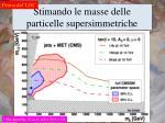 stimando le masse delle particelle supersimmetriche