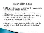 telehealth sites