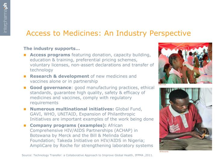 Access to Medicines: An
