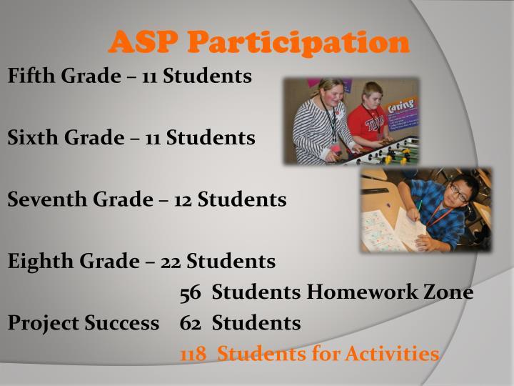 Asp participation