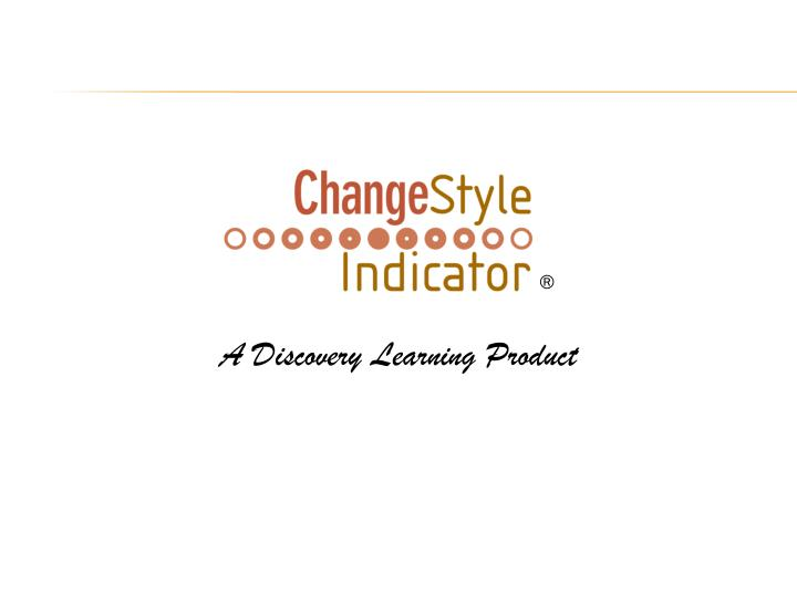 A Discovery Learning Product