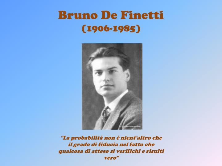 Bruno De