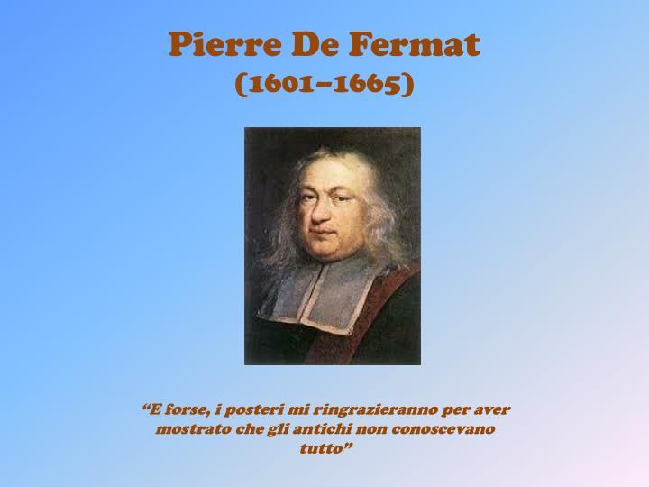 Pierre De