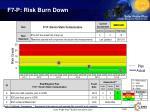 f7 p risk burn down