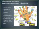 comprehensive care infection complication prevention