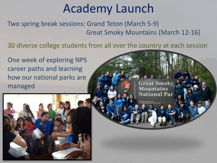 Academy Launch